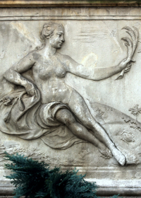 Ceres, Sandsteinrelief in der.-Frauengasse