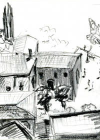Taormina. Bleistift. 1987