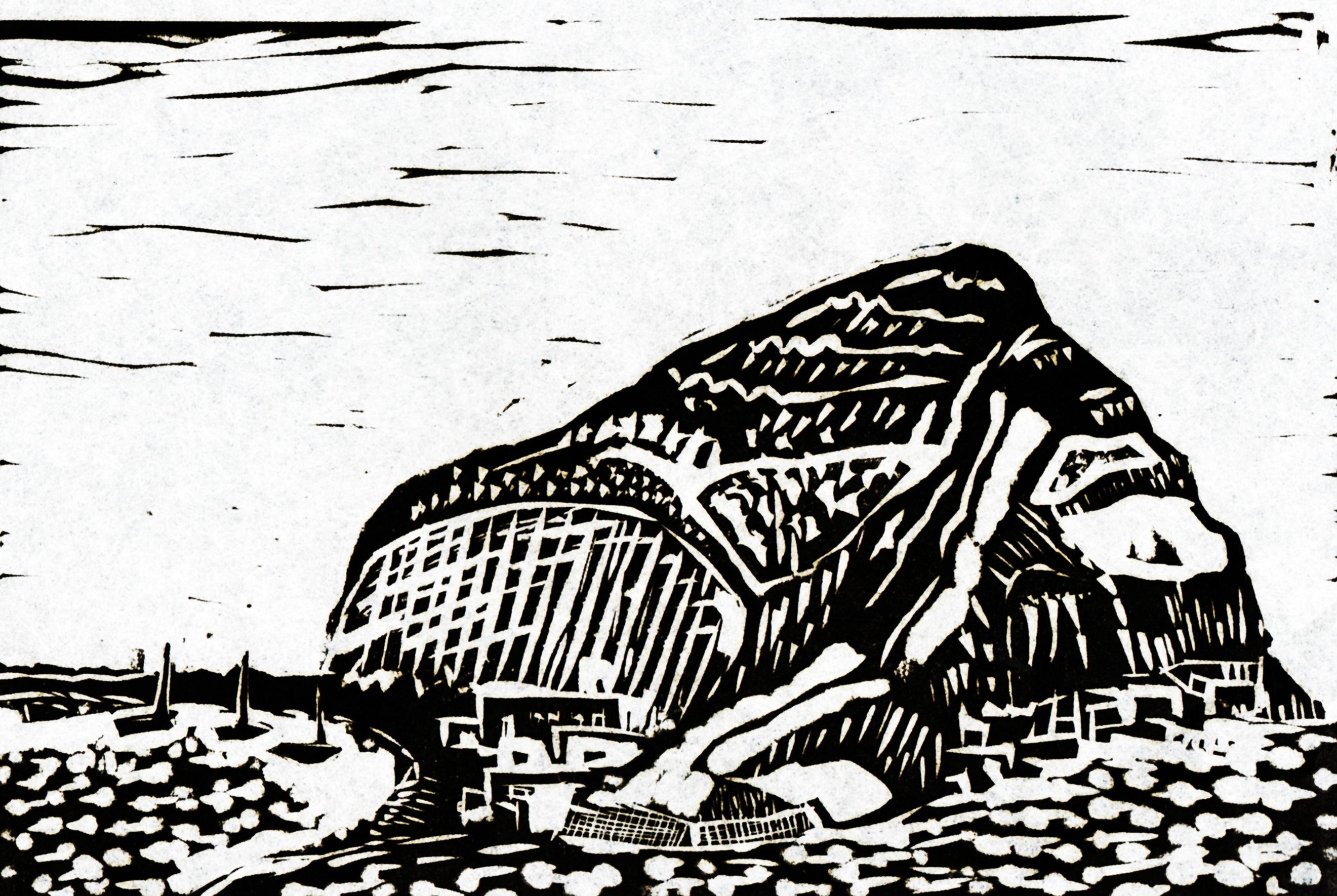 Torre. Linolschnitt 1979