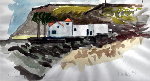 finca-auf-lanzarote-aquarell-1999