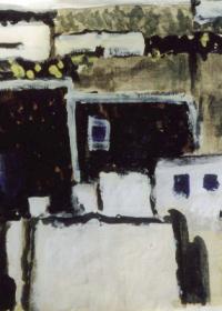 entlegener-ort-auf-lanzarote-auarell-deckweiss-chinatinte-1999
