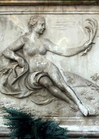 Ceres, Sandsteinrelief in der.-Frauengasse