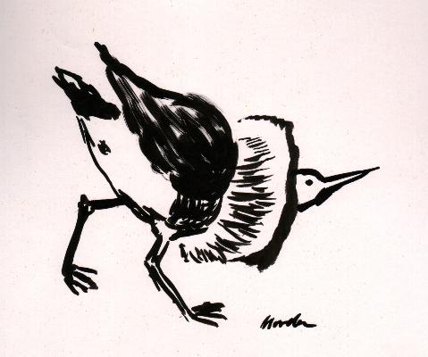 vogel-5-pinselzeichnung